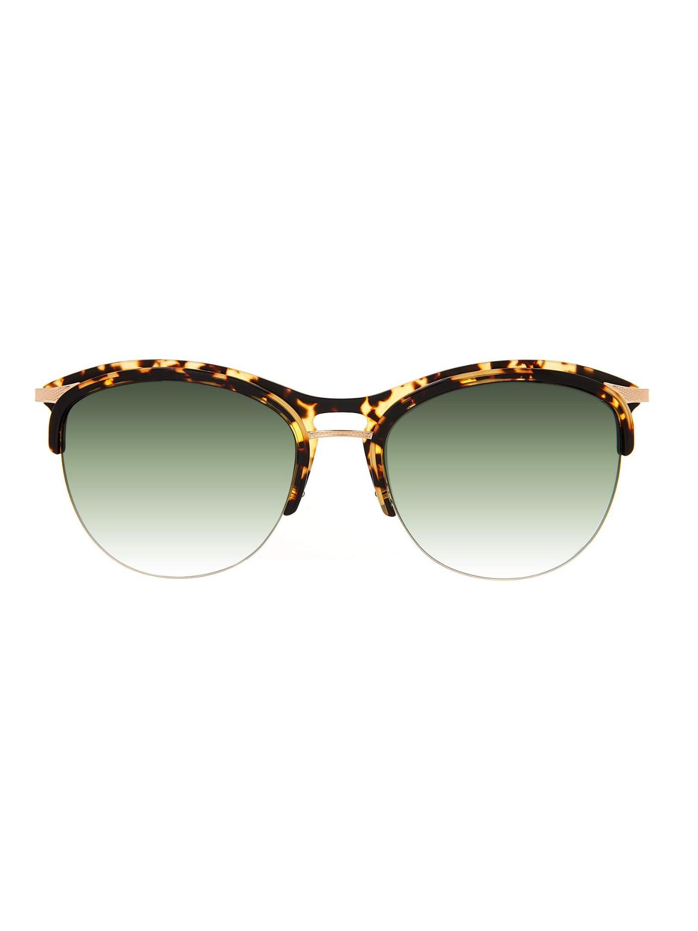 Seraphina Half Multicolor Frame Sunglasses Perreira Barton vwn08mN