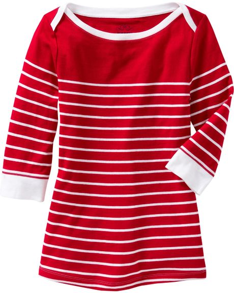 Striped Red And White Shirt Old Navy