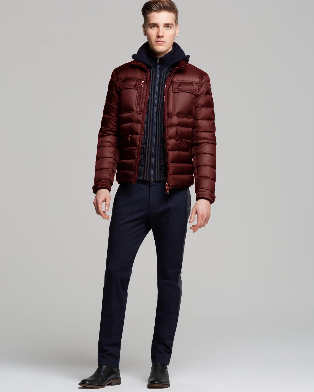 0755faae2 Moncler Purple Norbert Down Jacket for men