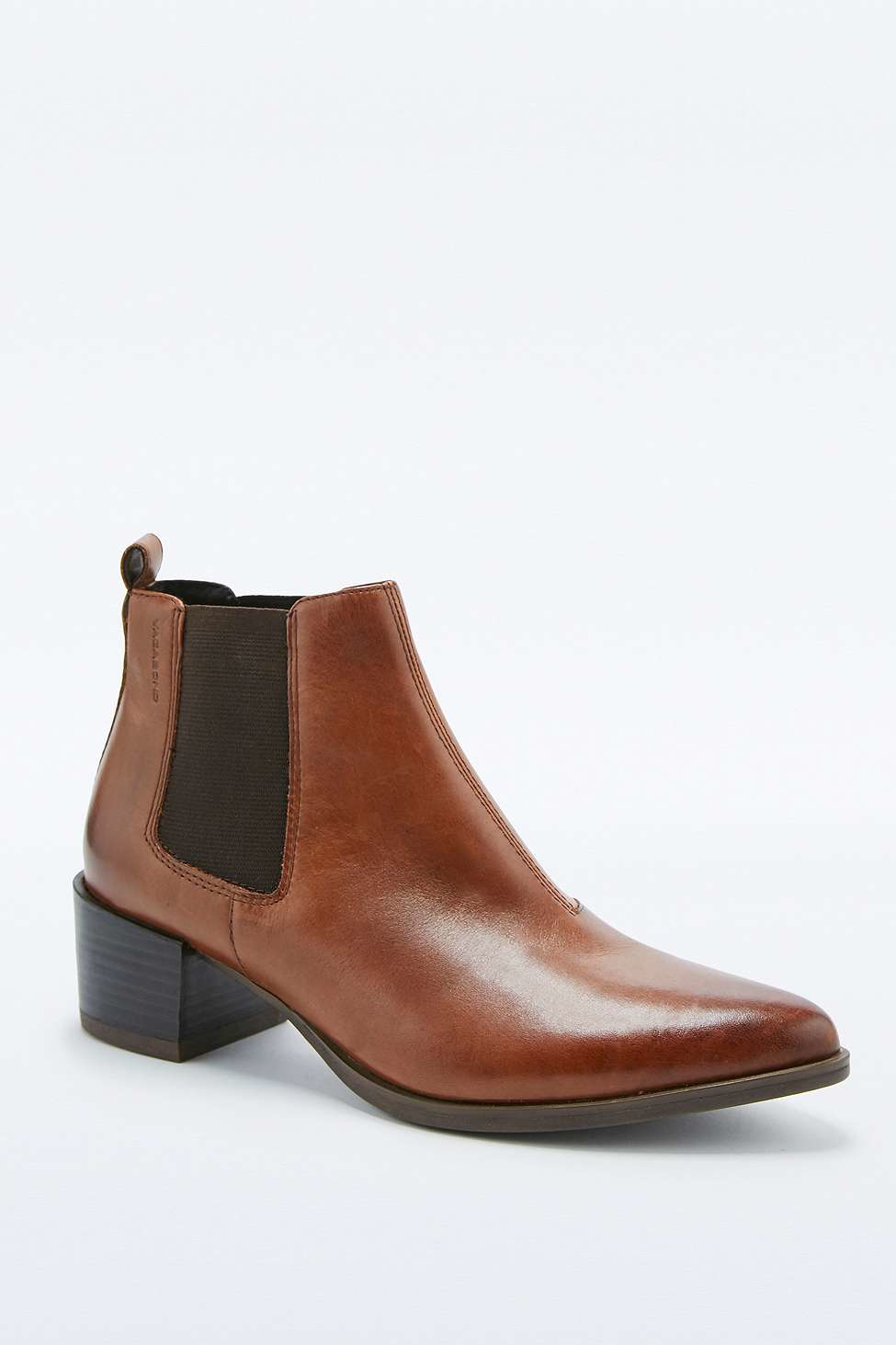 vagabond emira tan chelsea ankle boots in brown lyst. Black Bedroom Furniture Sets. Home Design Ideas