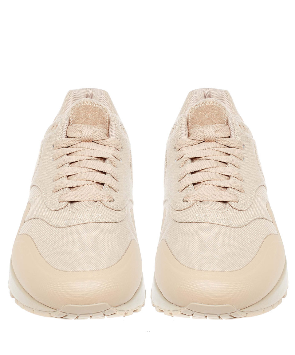 finest selection 37159 52c4c Nike Beige Patch Air Max 1 V Sp Trainers in Natural - Lyst