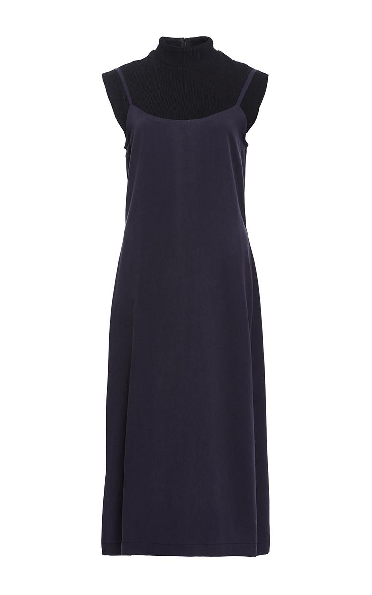 764b78860fea Sea Tencel Twill Slip Dress in Blue - Lyst