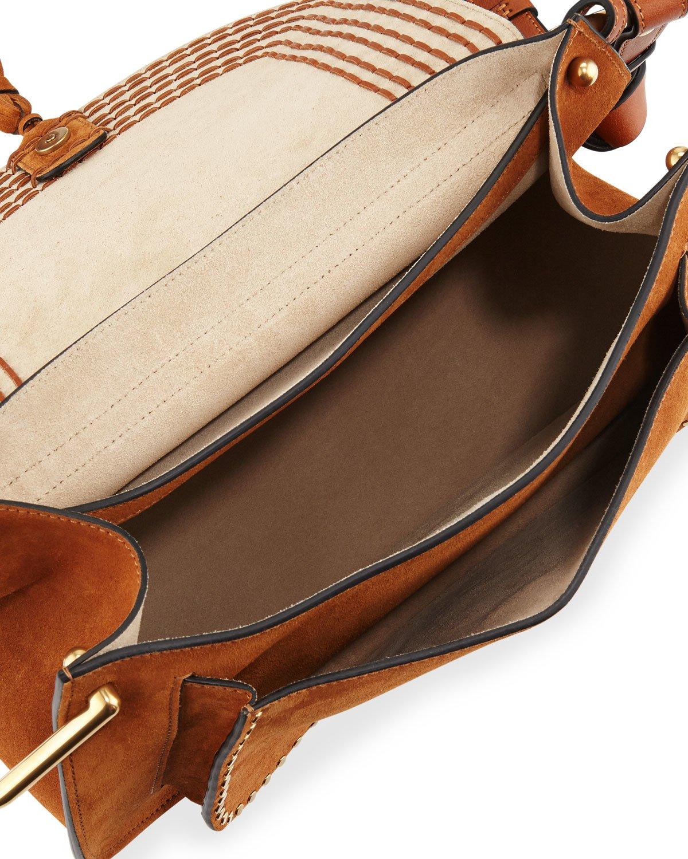 chloe knock off - Chlo�� Hudson Suede Shoulder Bag in Brown (CARAMEL) | Lyst