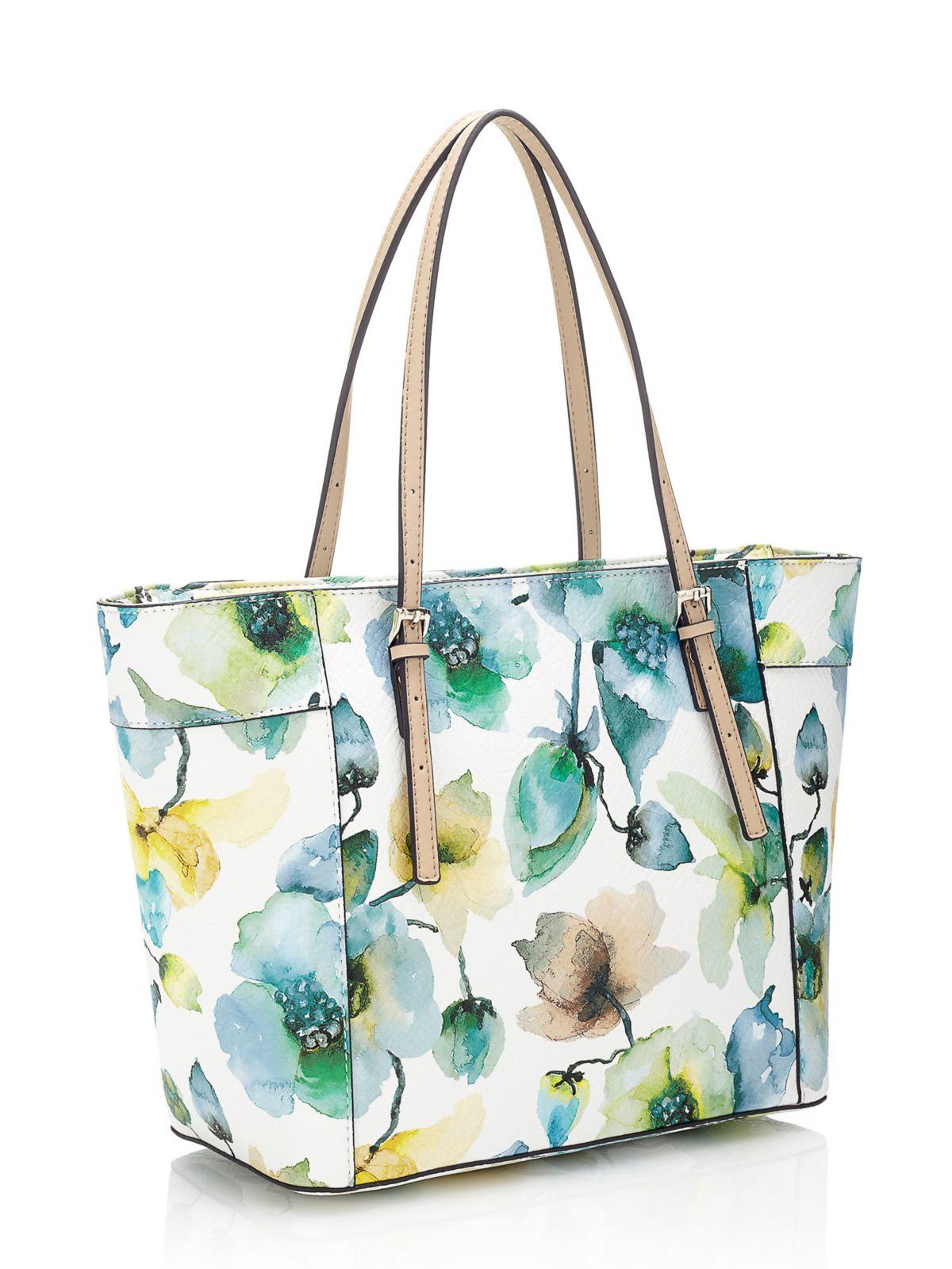 Guess Delaney Floral Mini Bag | Lyst