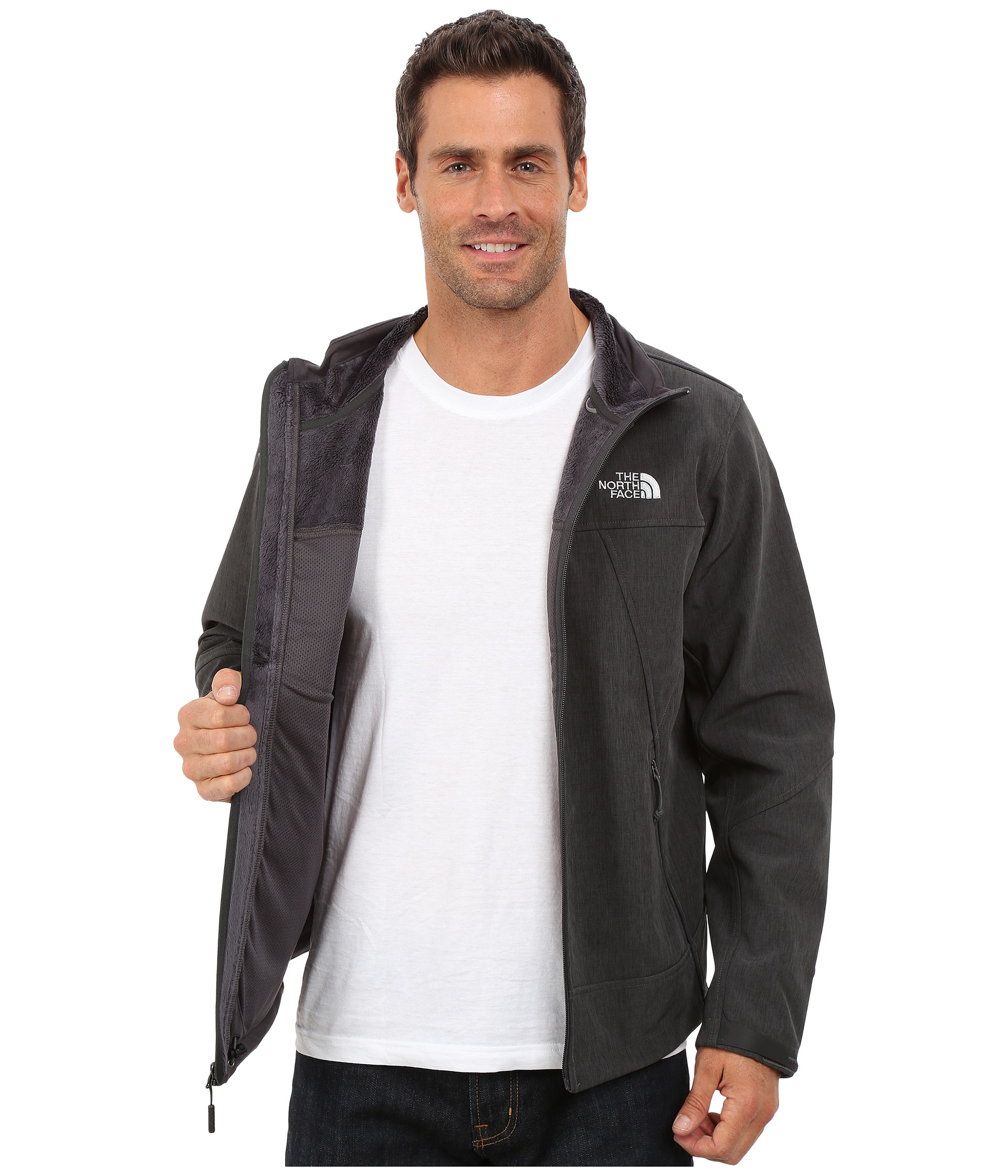 278599116 The North Face Black Apex Chromium Thermal Jacket for men