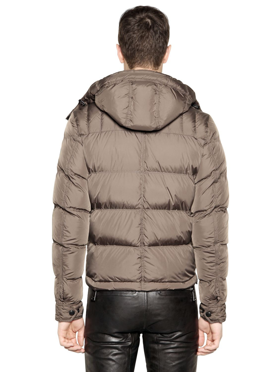 Lyst Belstaff Quot Conway Quot Quilted Nylon Down Jacket In Gray