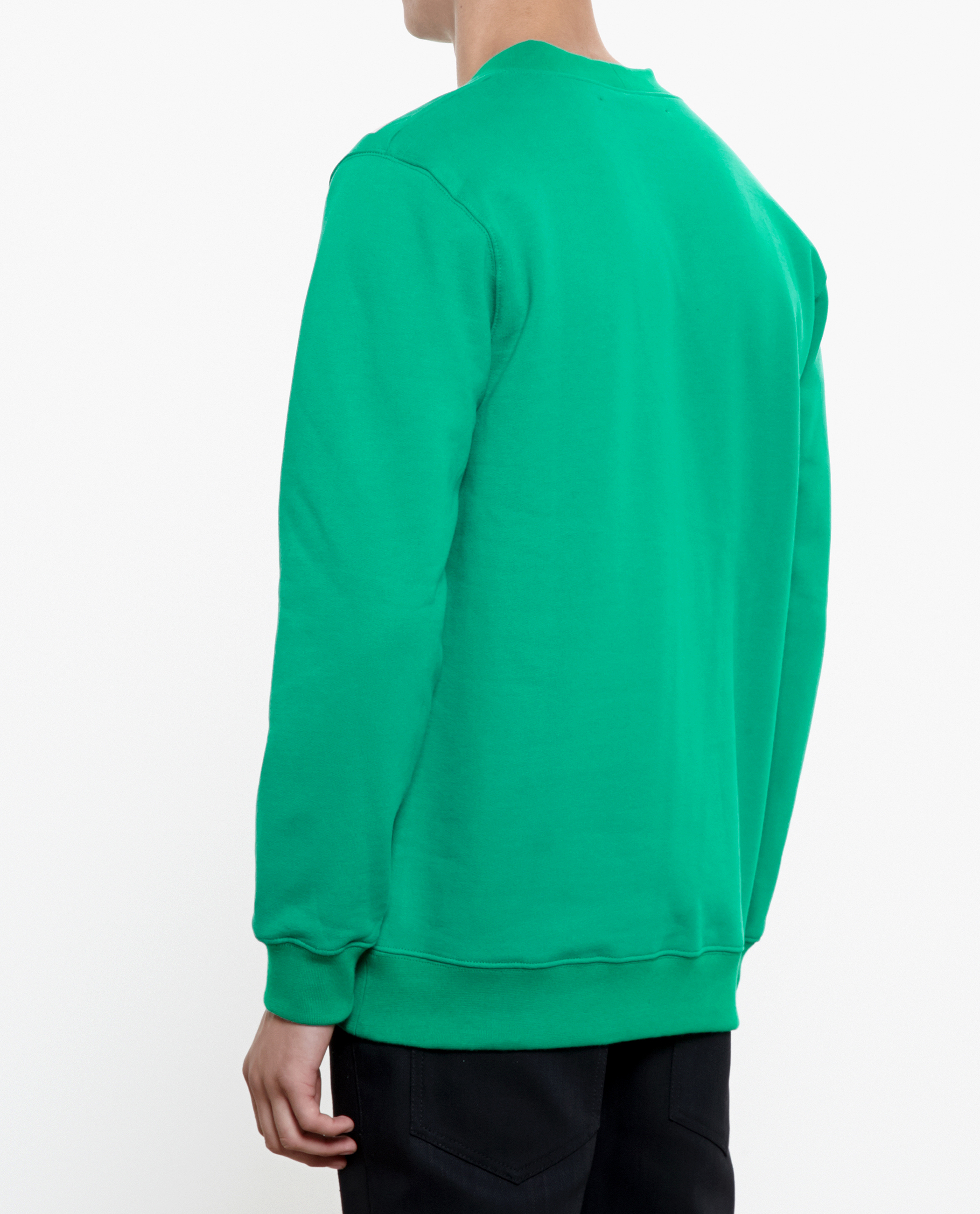 Raf Simons Sterling Ruby Fingernails Print Sweatshirt in Green for Men
