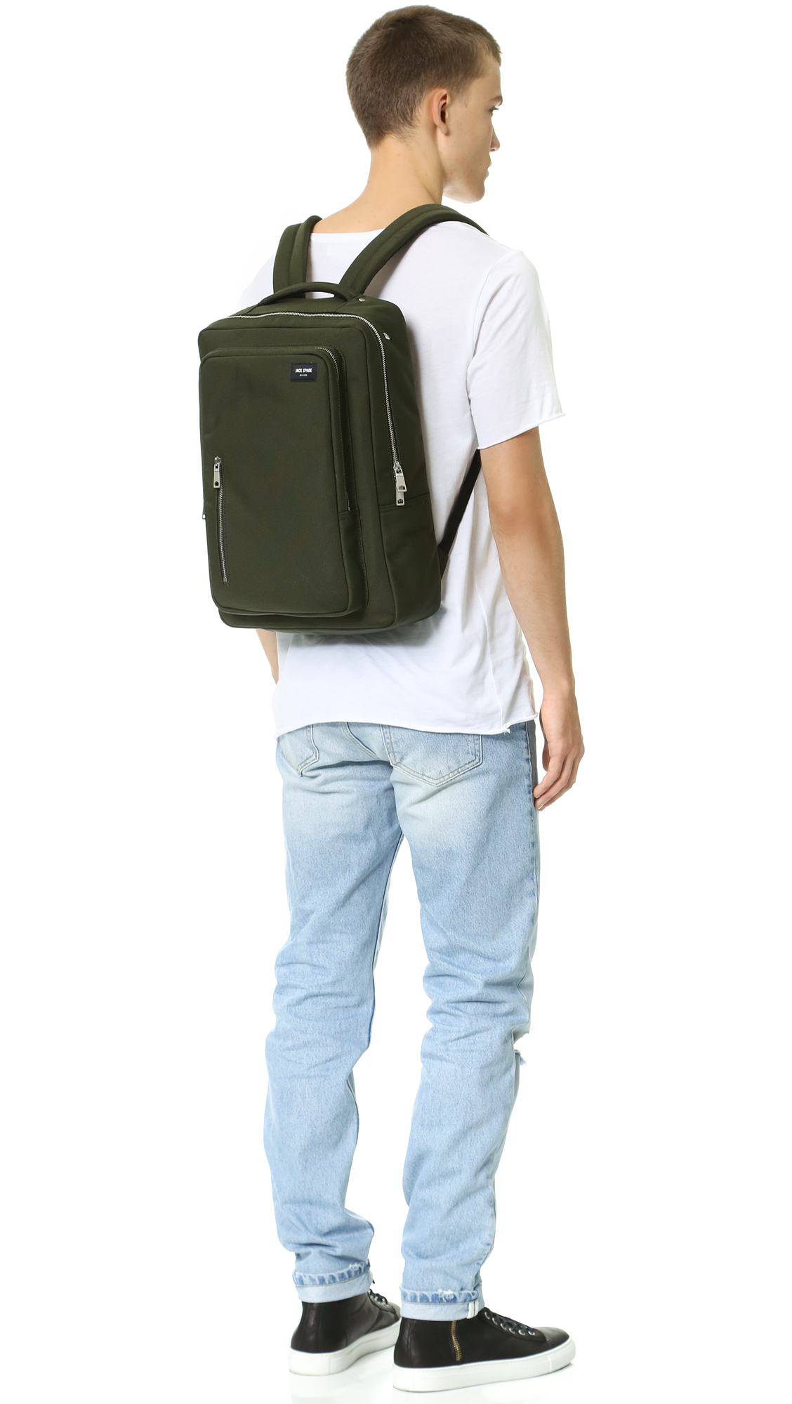 0f03998ced17 Jack Spade Commuter Nylon Cargo Backpack in Green for Men - Lyst