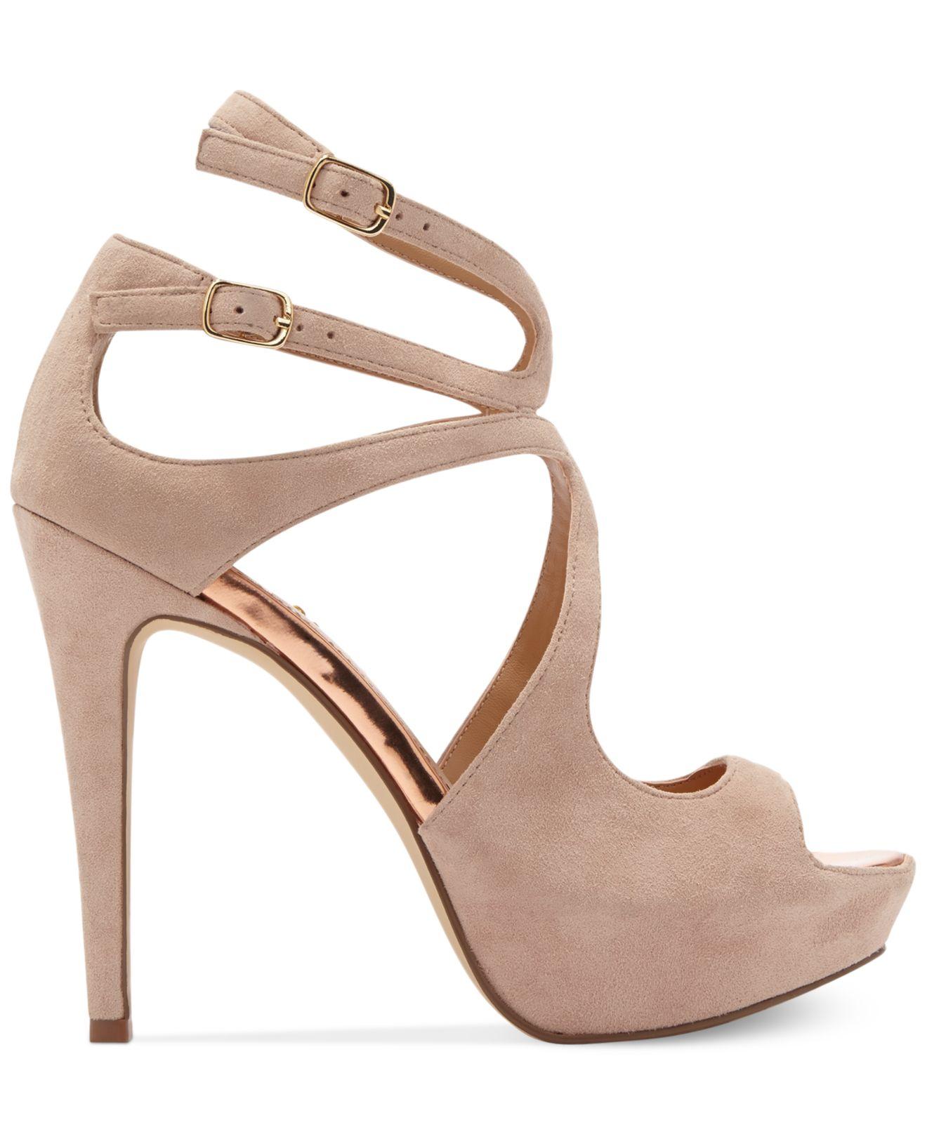dolce vita dv by brielle platform sandals in pink lyst