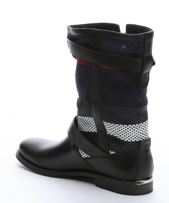 Motorcycle Boot Black 11