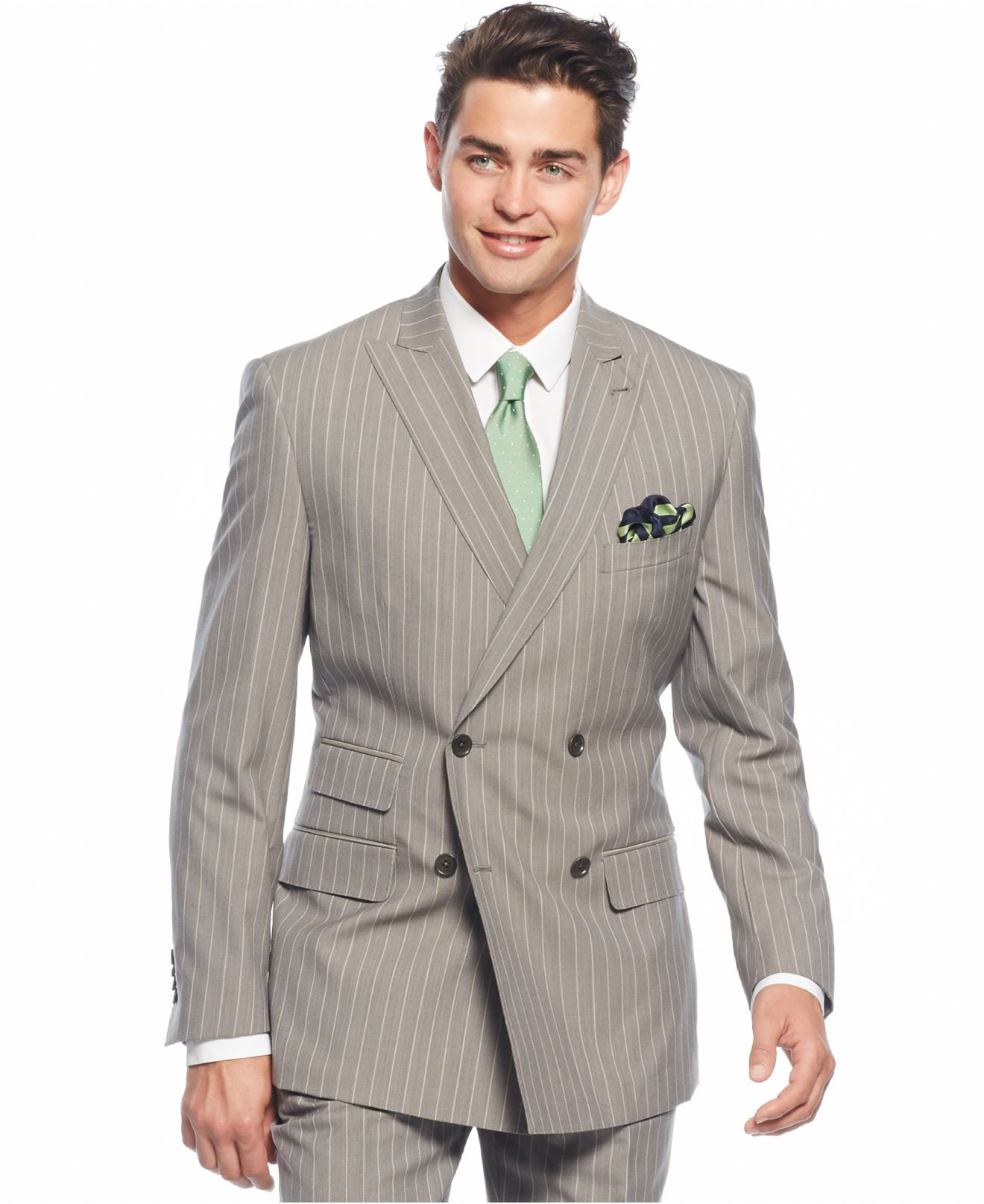 Lyst English Laundry Peak Lapel Slim Fit Double Breasted