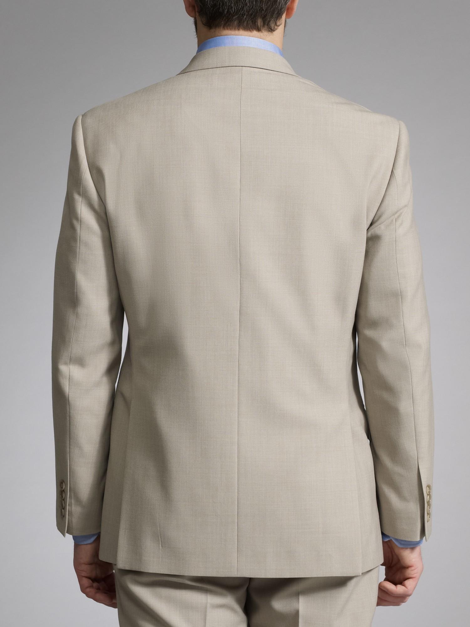 John Lewis Washable Suit Jacket in Natural for Men
