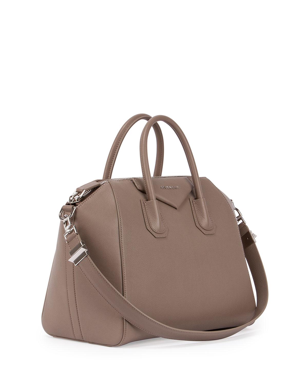7661e3d6335 Givenchy Antigona Medium Sugar Satchel Bag in Brown - Lyst