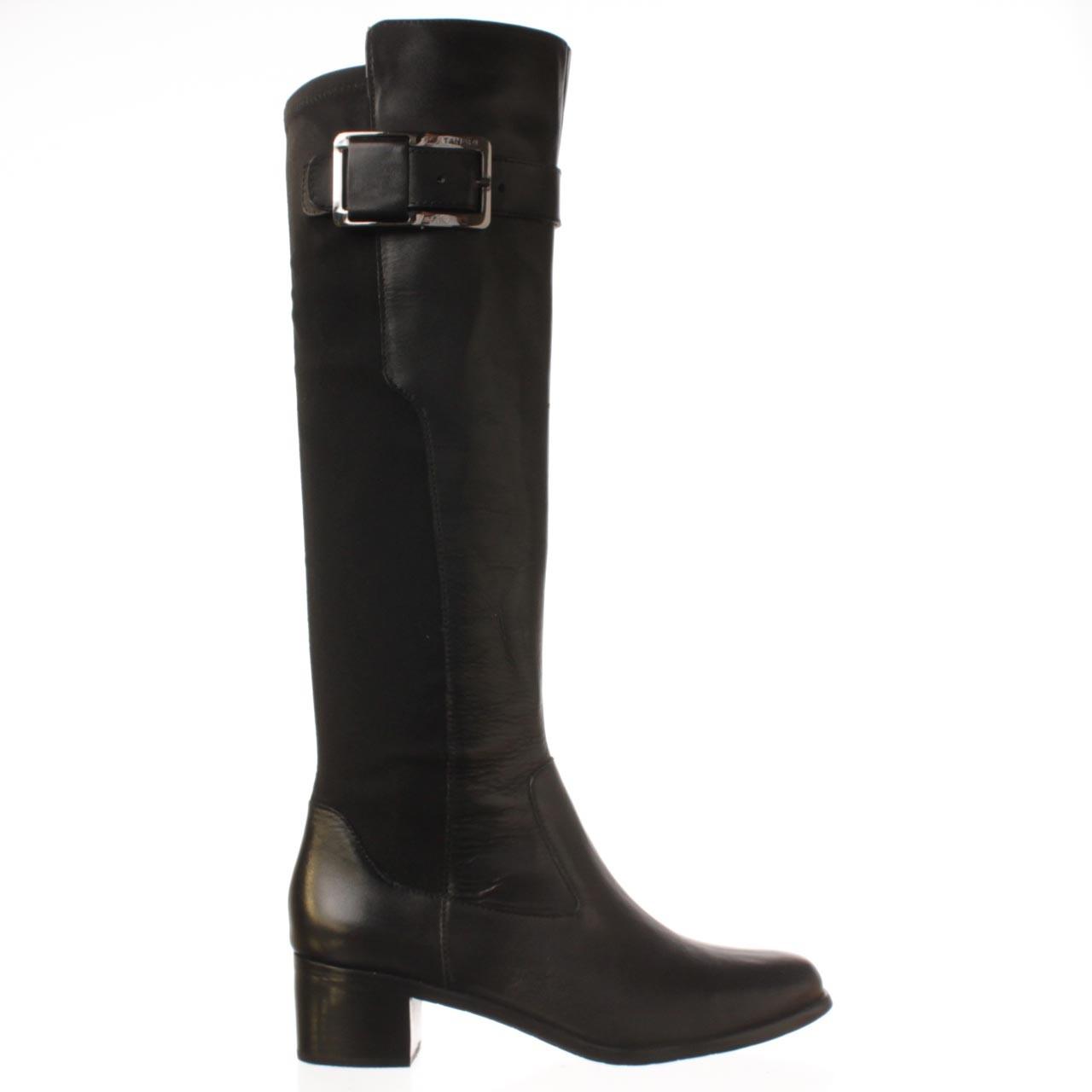 tahari karmel boot in black lyst