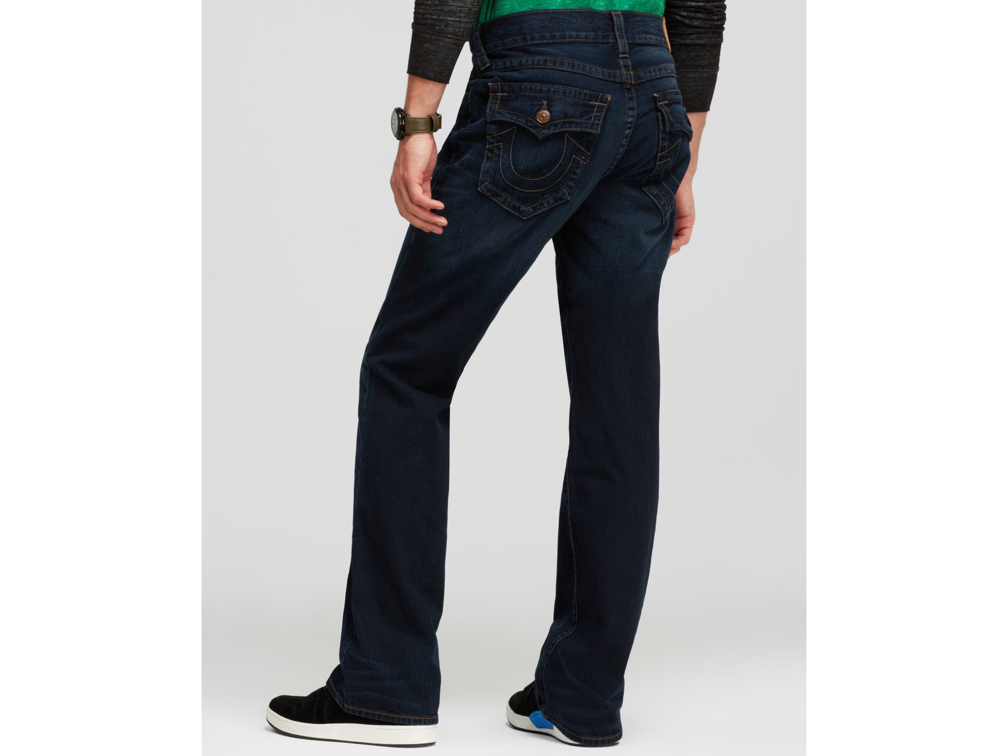 True Religion Billy Bootcut In Midnight Pass in Blue for Men
