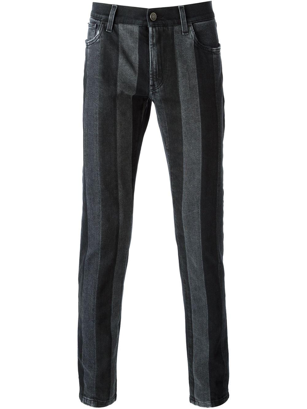 Black Slim Fit Jeans Men