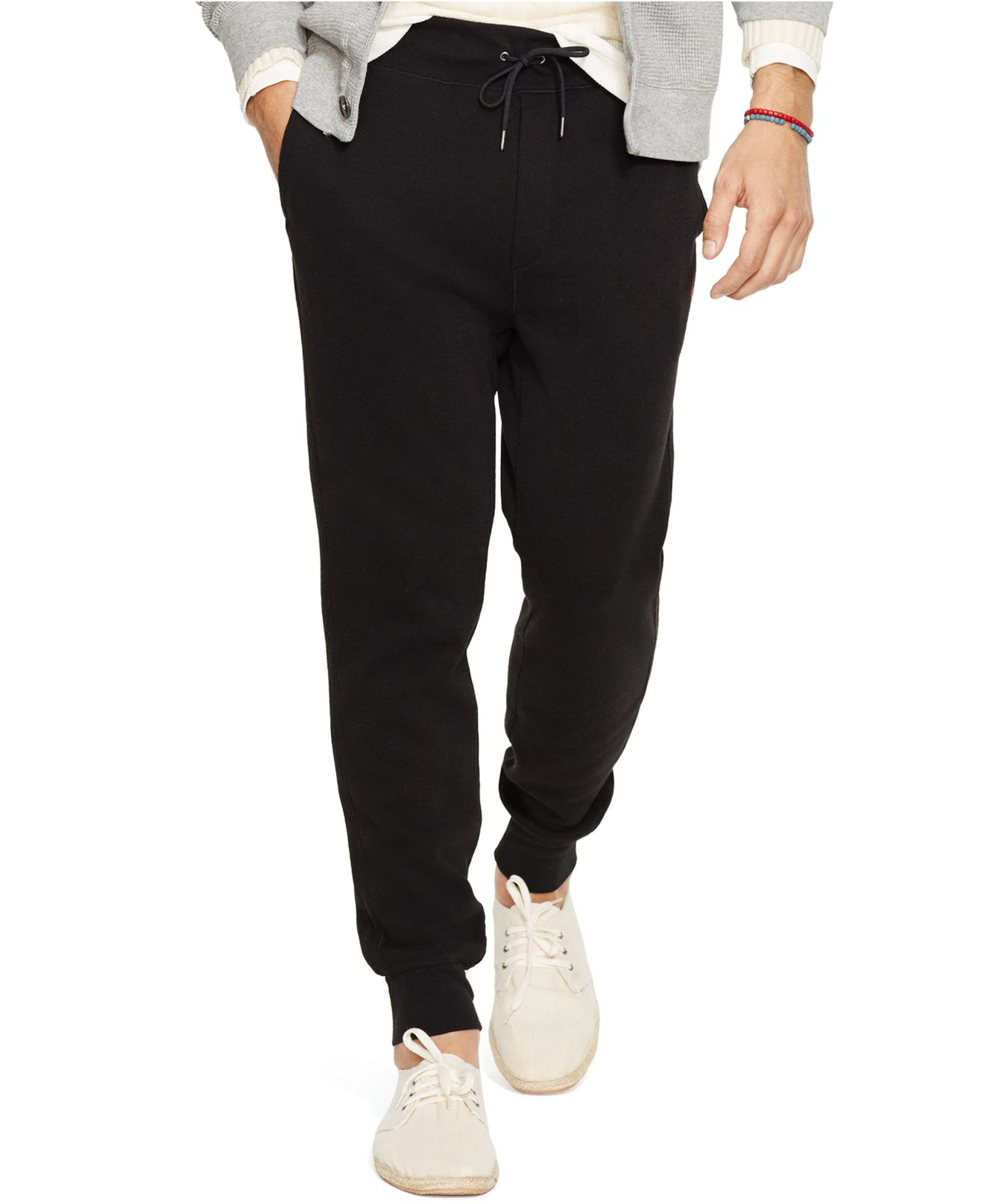 Clearance 100% Guaranteed drawstring sweatpants - Black Polo Ralph Lauren Outlet For Nice Cheap Sale Amazon NFcxdTrIA