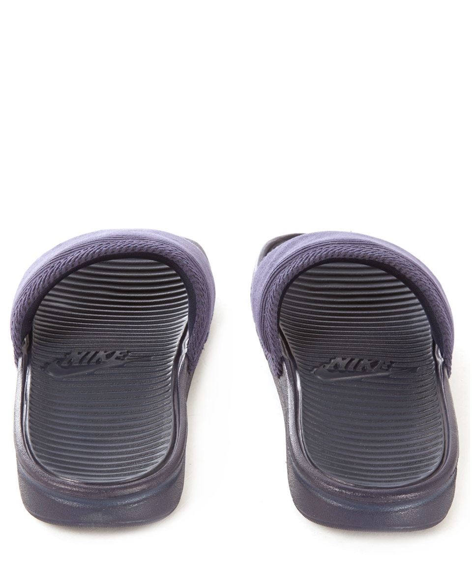a4def96265f8a0 Lyst - Nike Purple Benassi Solarsoft Sp Slides in Black