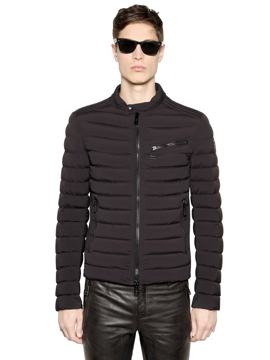 Lyst Belstaff Tanworth Quilted Down Jacket In Black For Men