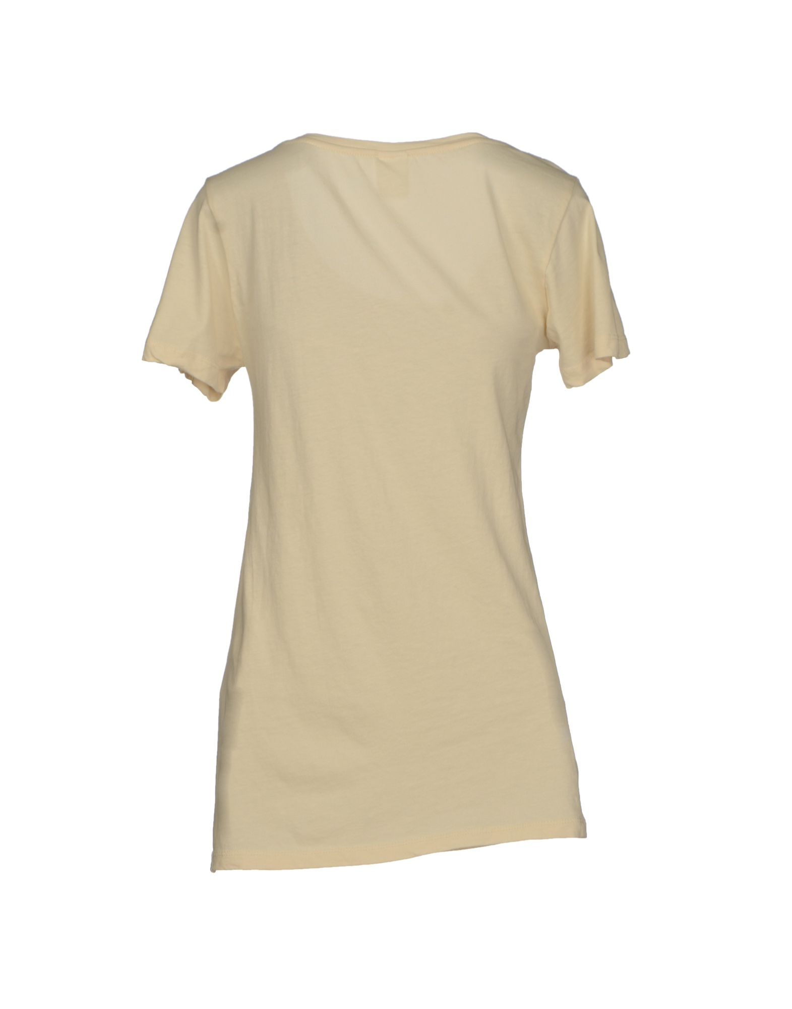 vero moda t shirt in natural lyst. Black Bedroom Furniture Sets. Home Design Ideas