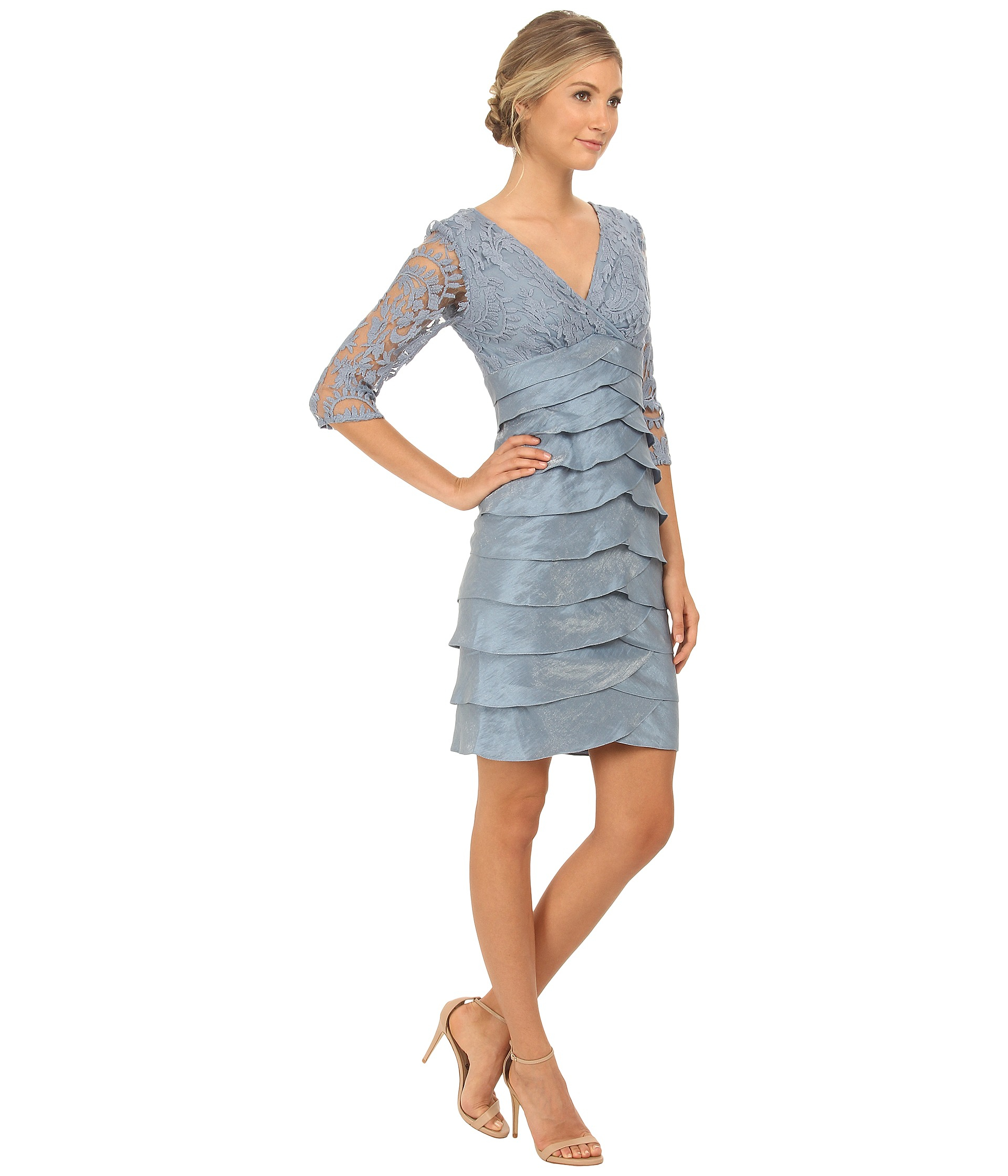 Gallery. Previously sold at: Zappos · Women's Adrianna Papell Lace Dress