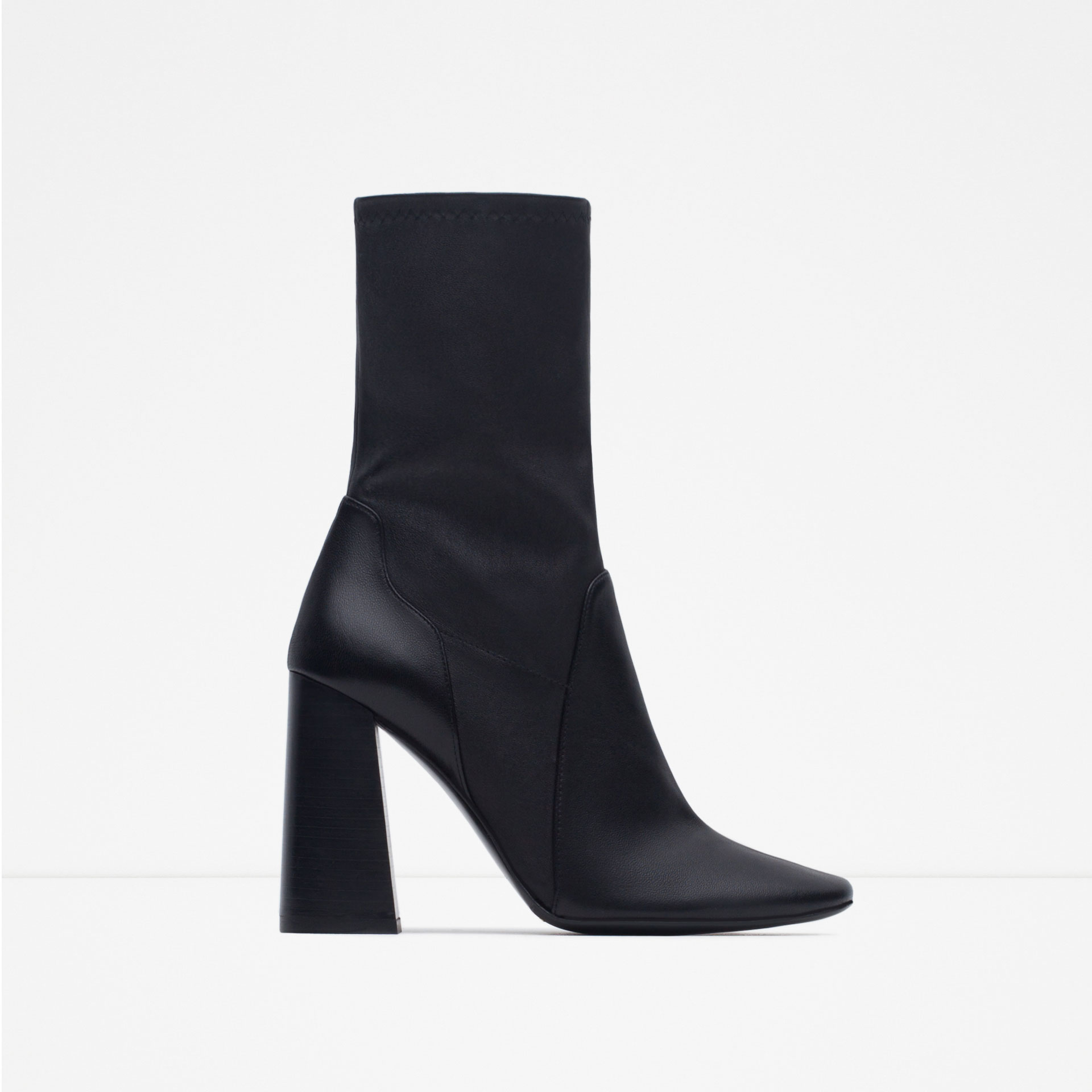 Image result for zara chunky heel boots