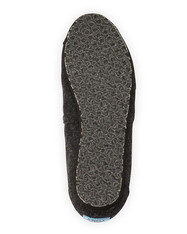 e2d72749af1 Lyst - TOMS Classic Wooly Fleece-lined Slip-on in Black