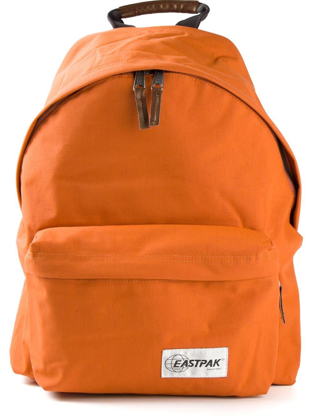 Eastpak Padded Pakr Backpack In Orange For Men Lyst