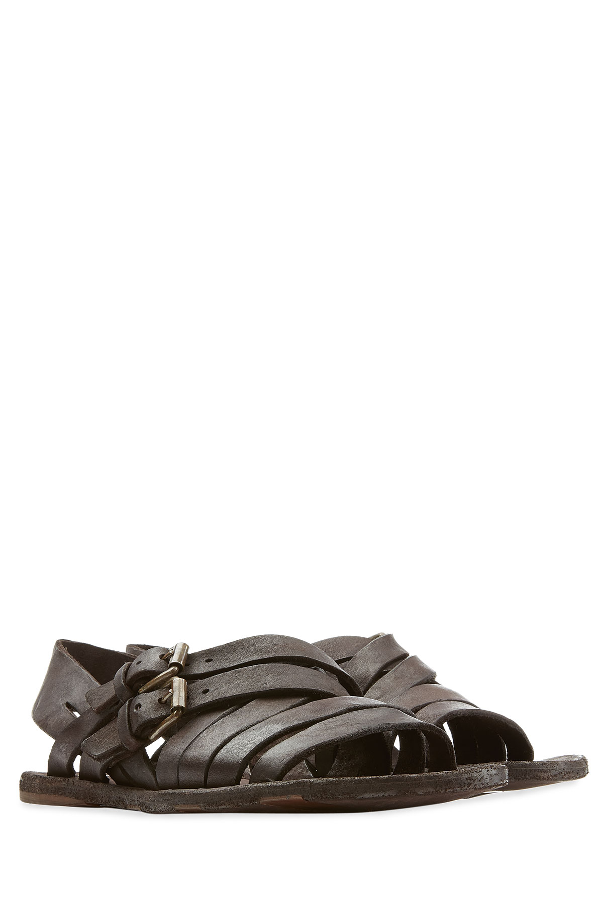 62e468d01ff Lyst - Officine Creative Artisan Leather Sandals in Brown for Men