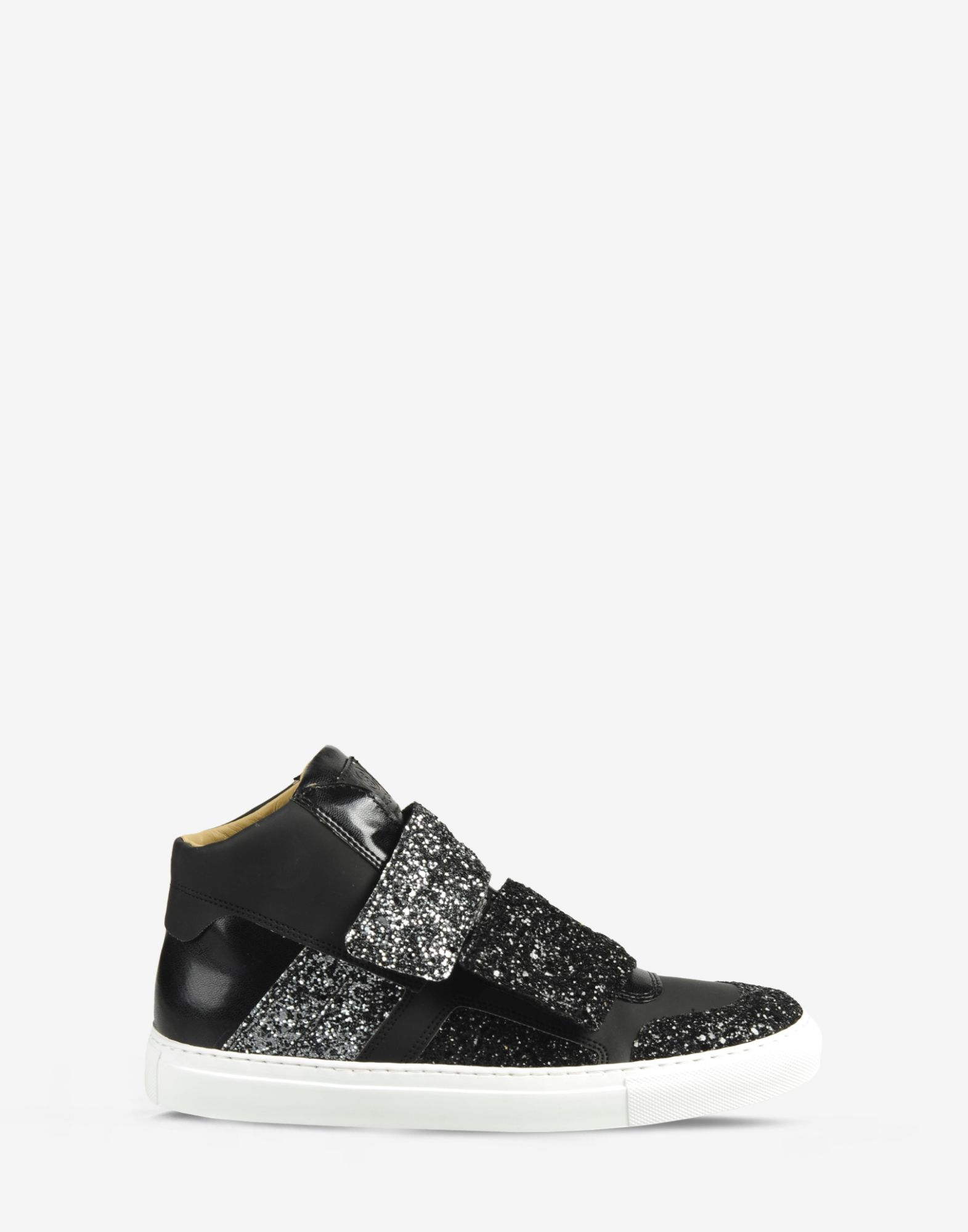 Lyst mm6 by maison martin margiela glitter coated high for Mm6 maison margiela