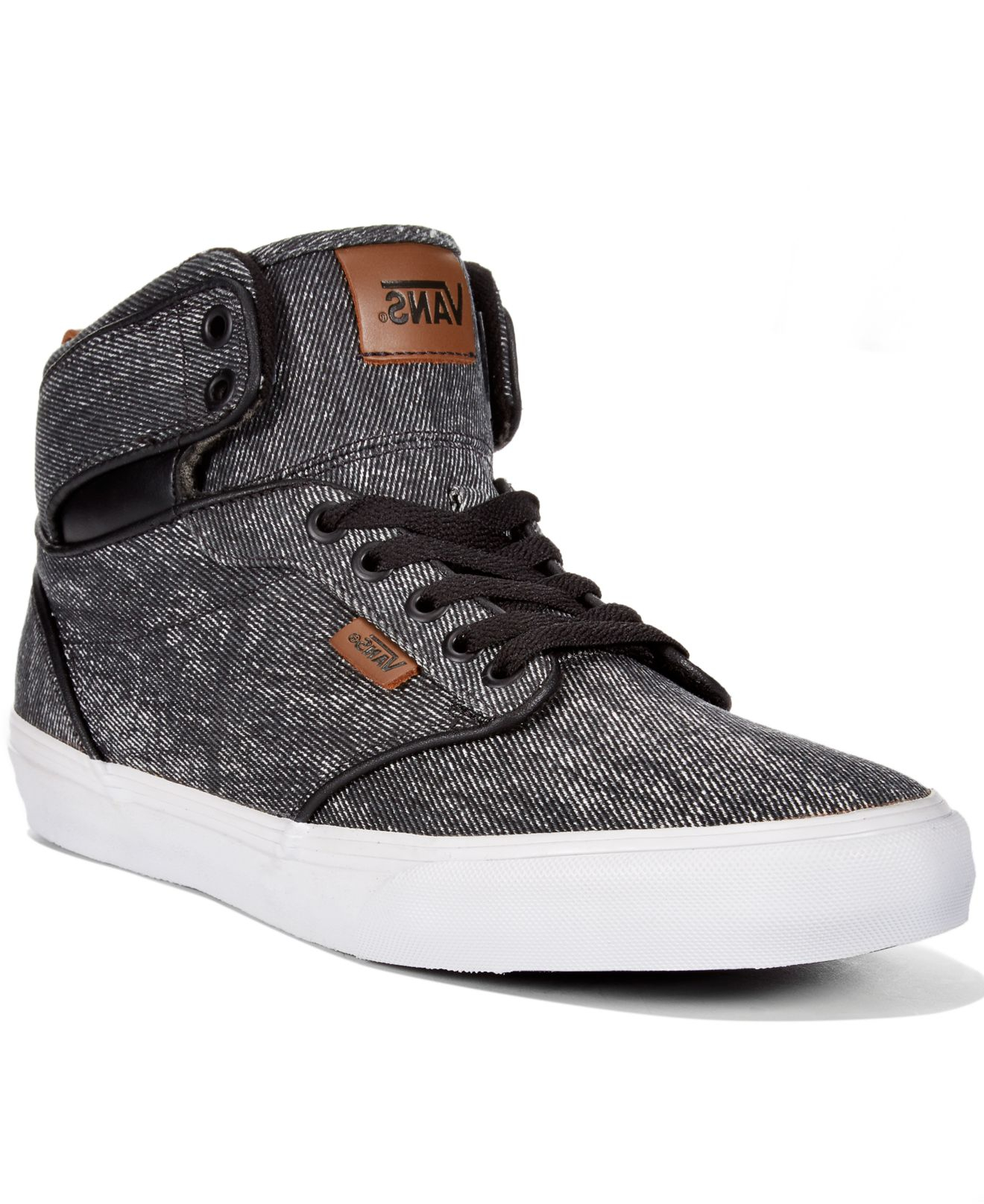 vans high tops mens sale