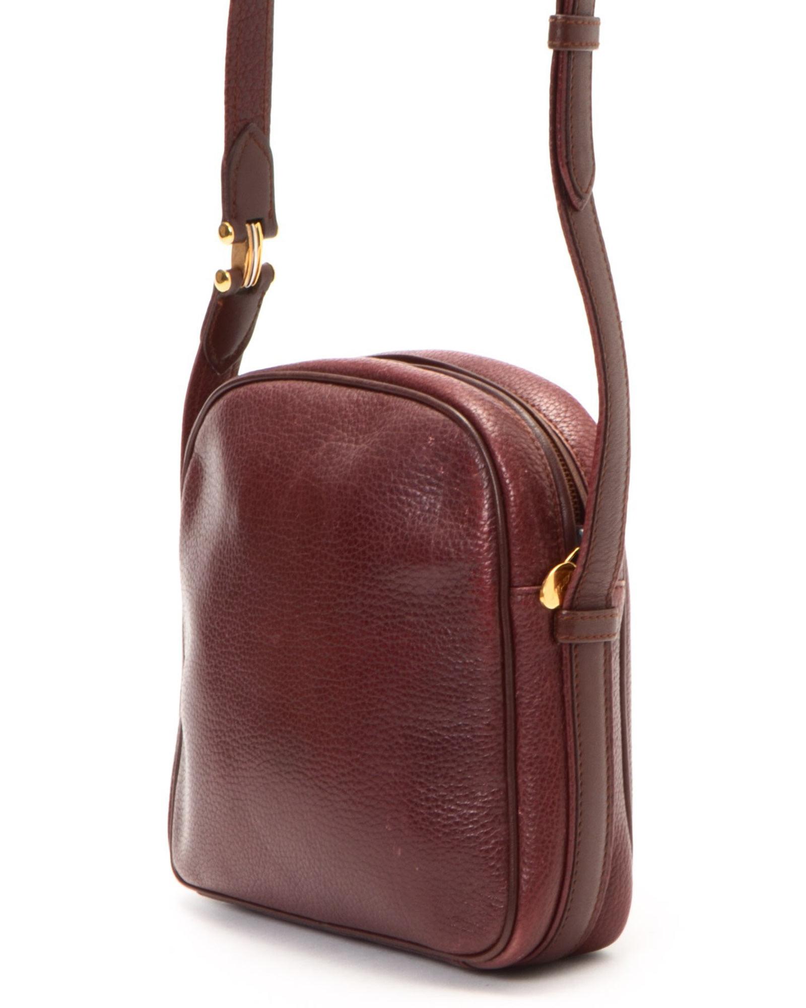cartier shoulder bag vintage in lyst