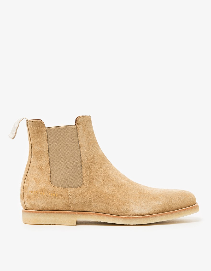 common projects suede chelsea boots in for lyst