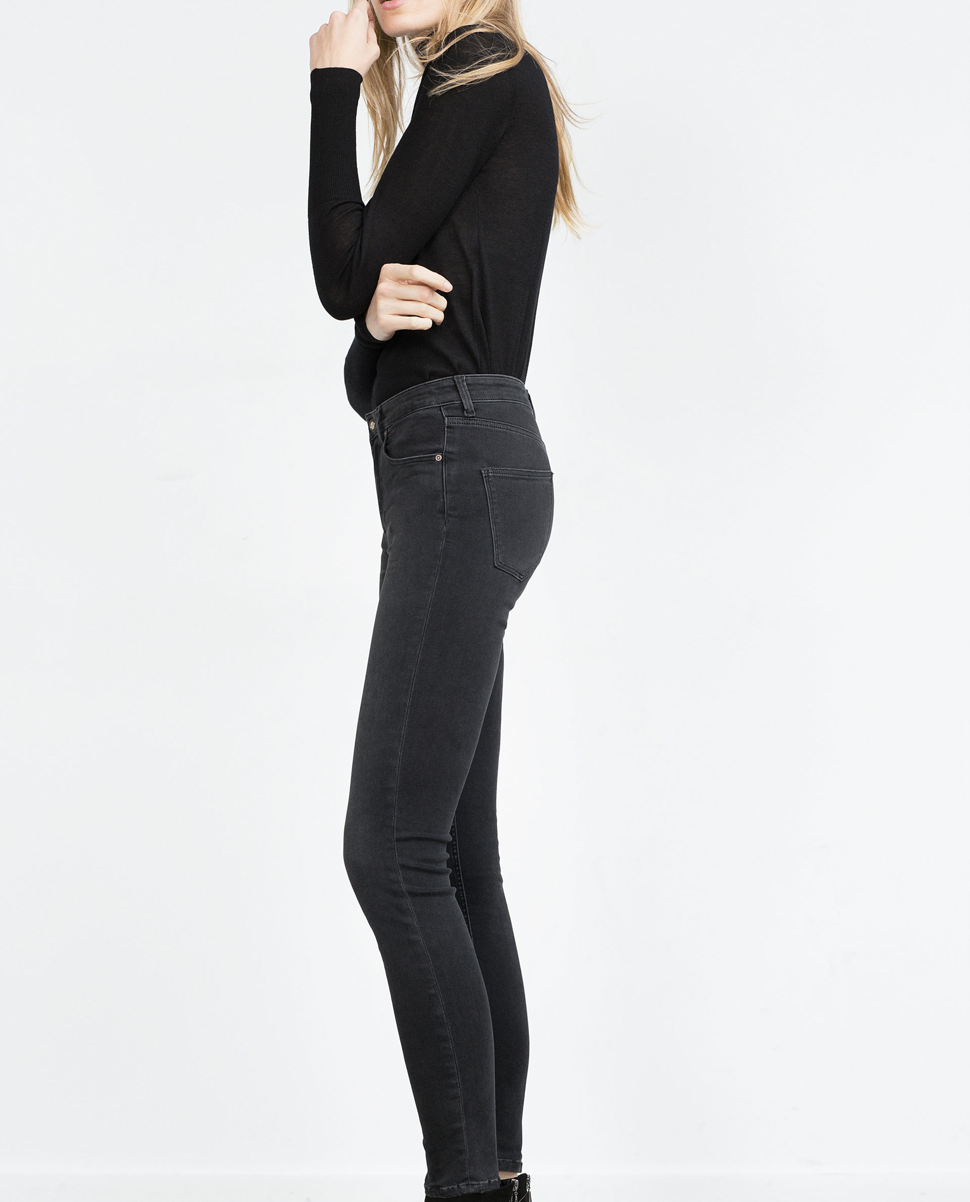 New Zara Spring 2015 Women Lookbook Fringed Suede Jacket