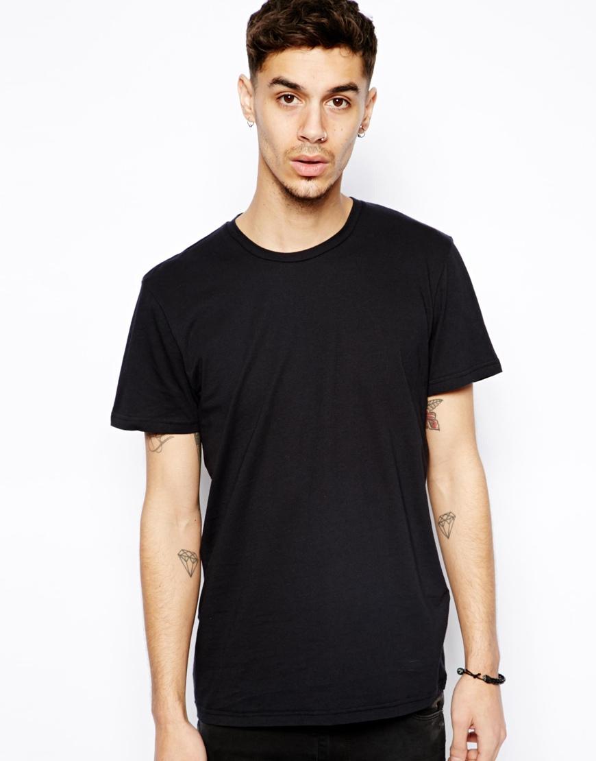 Cheap monday Basic T-shirt in Black for Men | Lyst