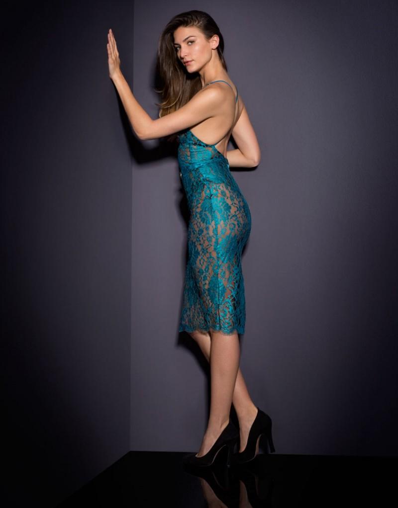 Lyst Agent Provocateur Rosette Dress Blue In Blue