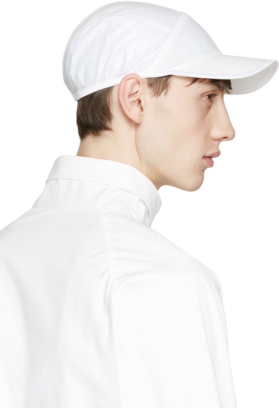 5195d8c5ccd Cottweiler White Temple Cap in White for Men - Lyst