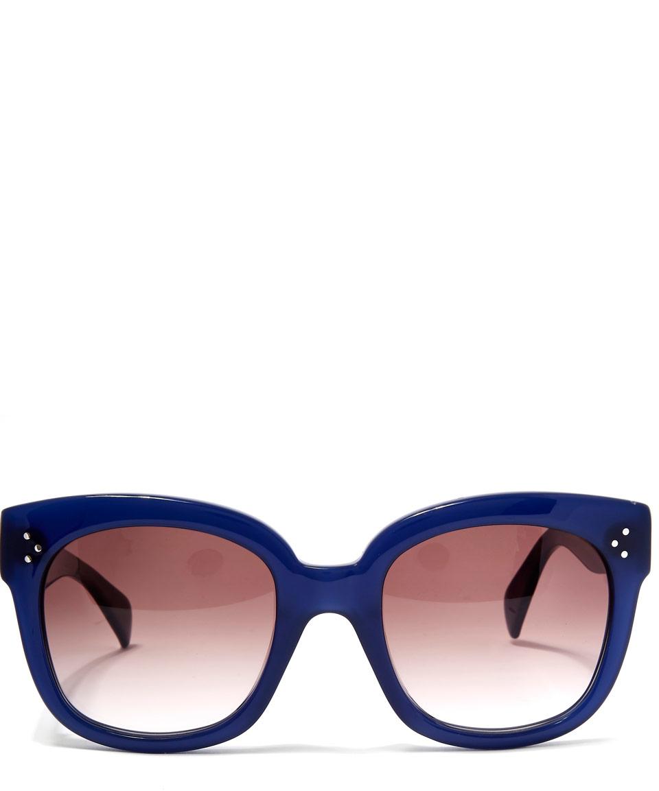 Celine New Audrey Sunglasses  céline blue new audrey sunglasses in blue lyst