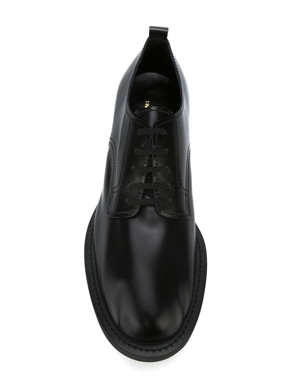 Comme des Garçons Leather Derby Shoes