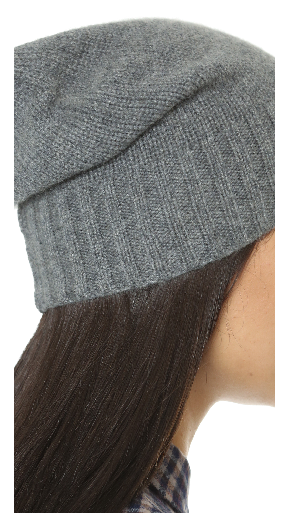Hat Attack Womens Cashmere Slouchy Hat