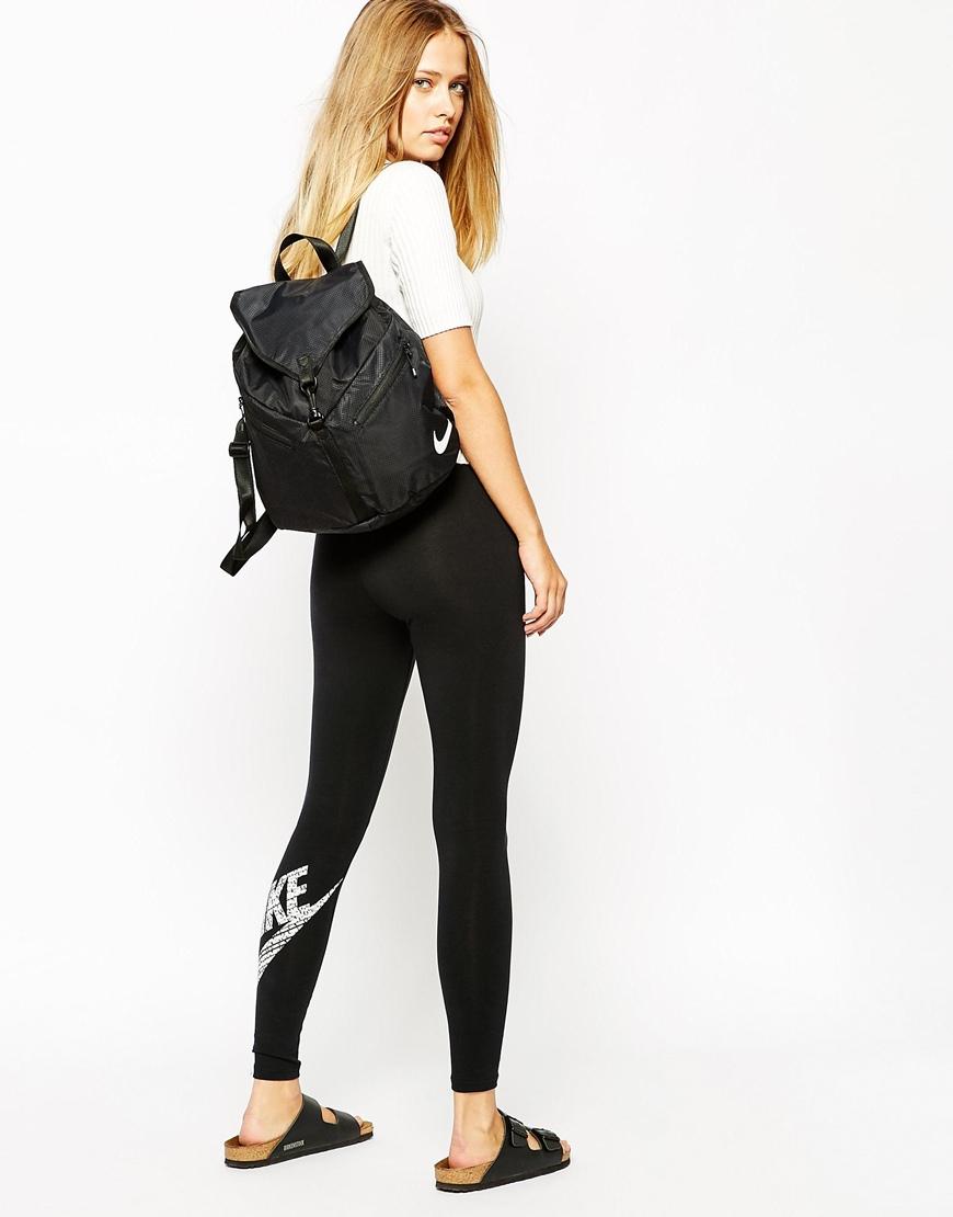 nike shox purple glitter - Nike Blue Label Backpack In Black in Black | Lyst