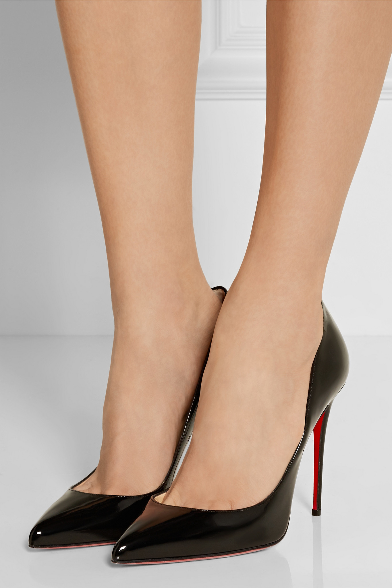 christian louboutin pigalle follies black suede