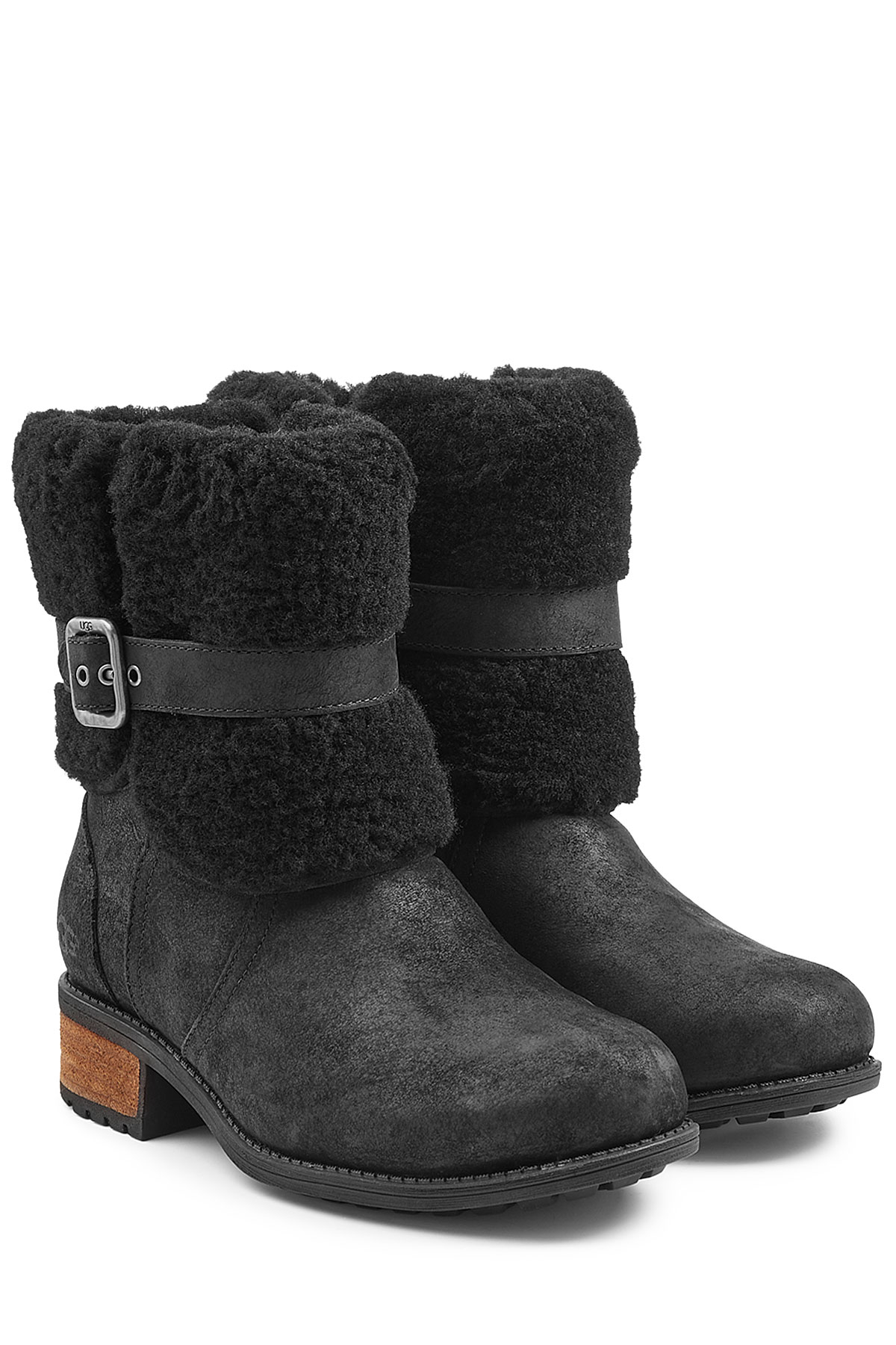 54955788e6b UGG Blayre Ii Suede Ankle Boots - Black