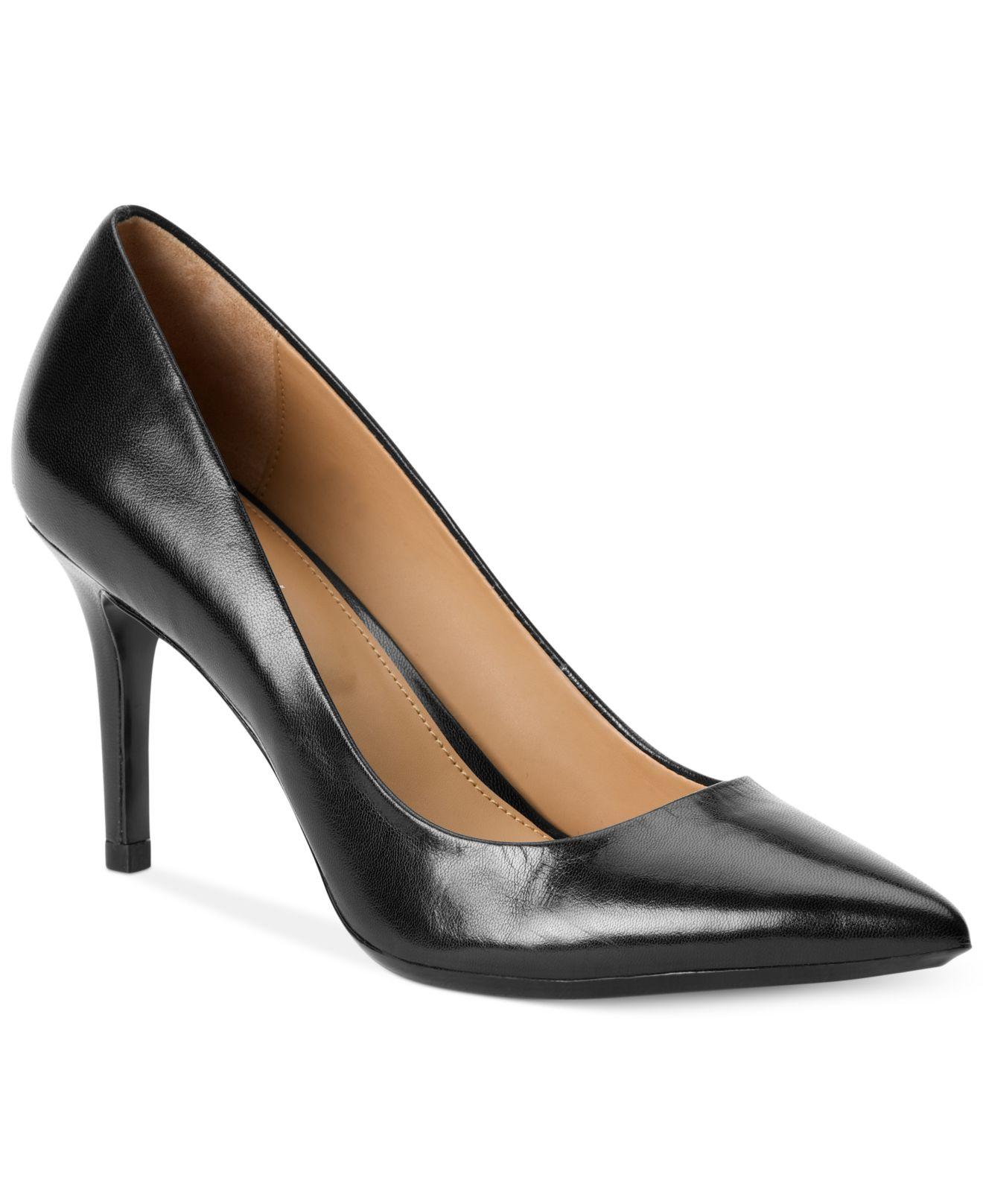 Calvin Klein Women S Gayle Pointed Toe Pumps In Black Lyst