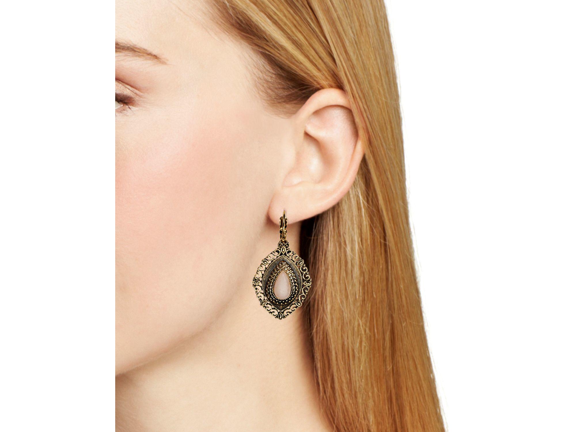 Samantha Wills Orchids Silk Earrings in Metallic Silver eGwwk