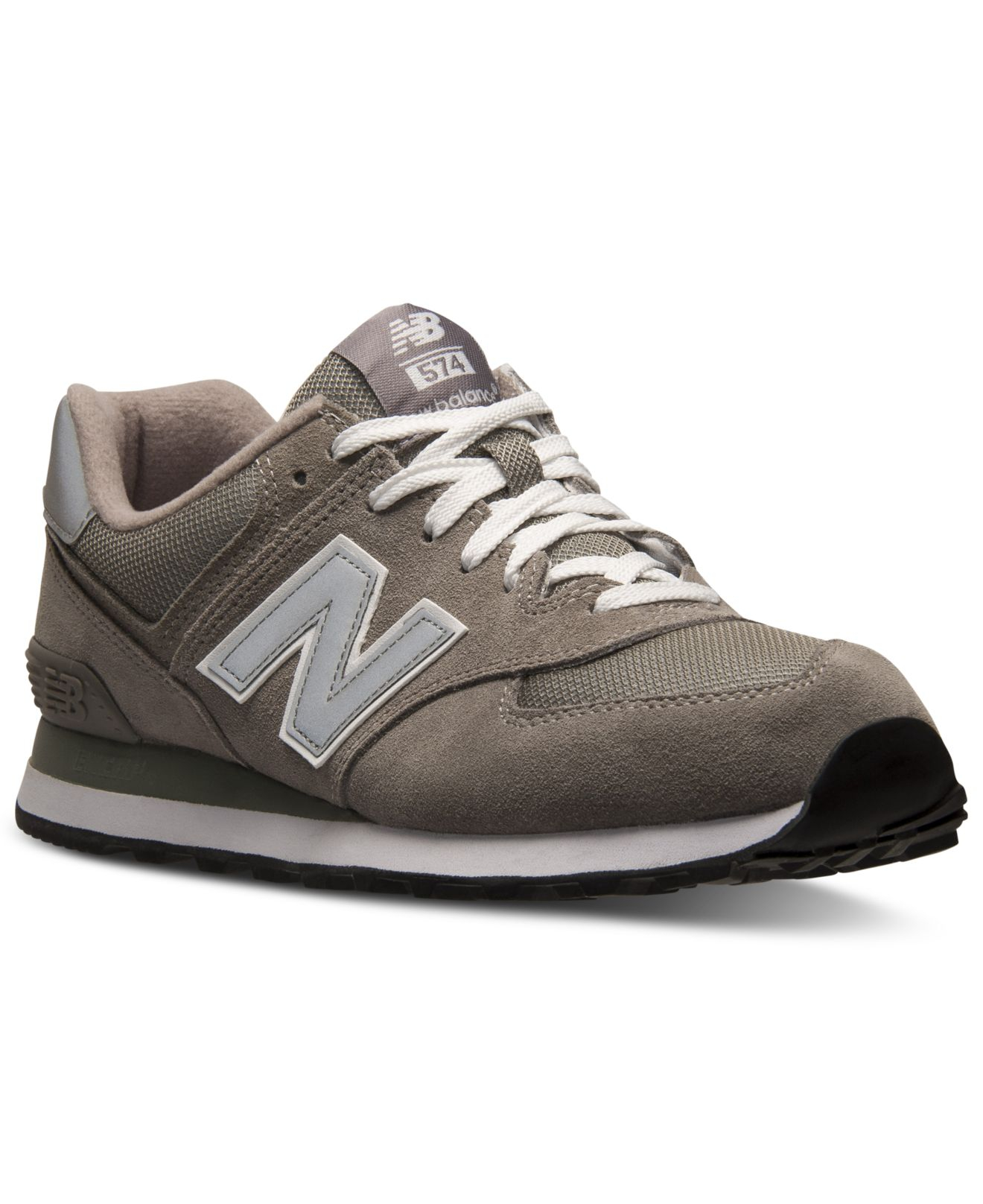 93cf89397f ... canada lyst new balance mens 574 core suede casual sneakers from finish  14aab 9ff50