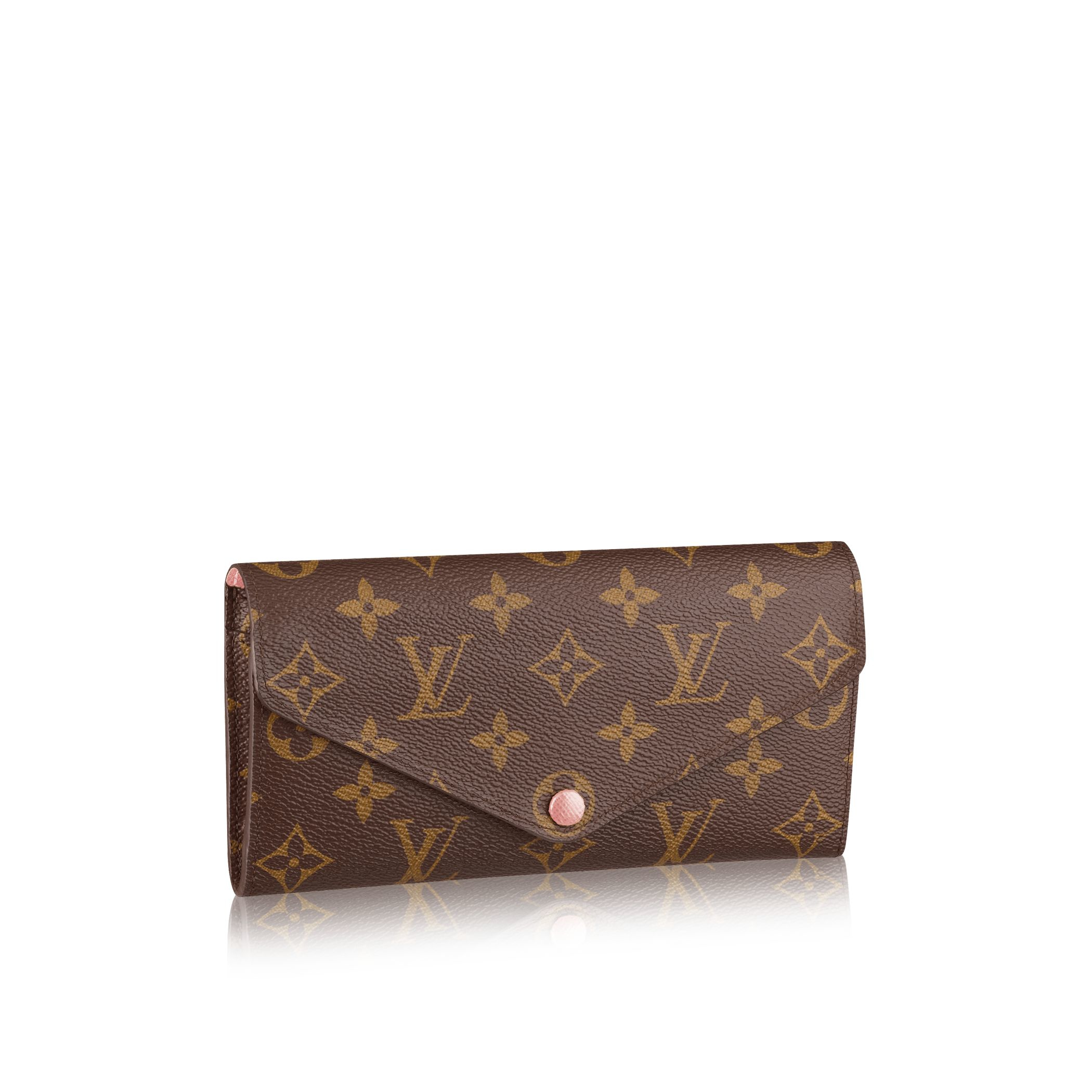 Louis vuitton Josephine Wallet in Pink | Lyst
