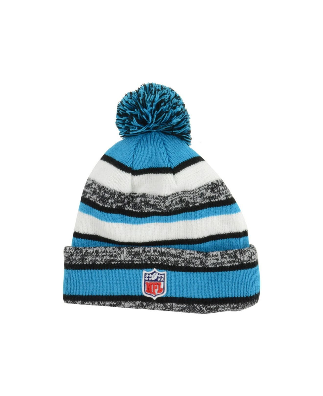 Lyst - KTZ Carolina Panthers Sport Knit Hat in Blue for Men 19a250e69