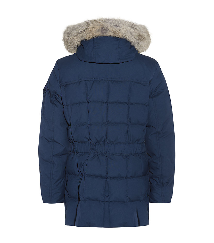 woolrich teton blizzard parka in blue for men lyst. Black Bedroom Furniture Sets. Home Design Ideas