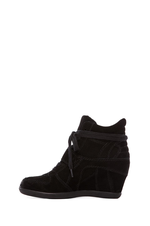 Ash Bowie Wedge Sneakers in Black